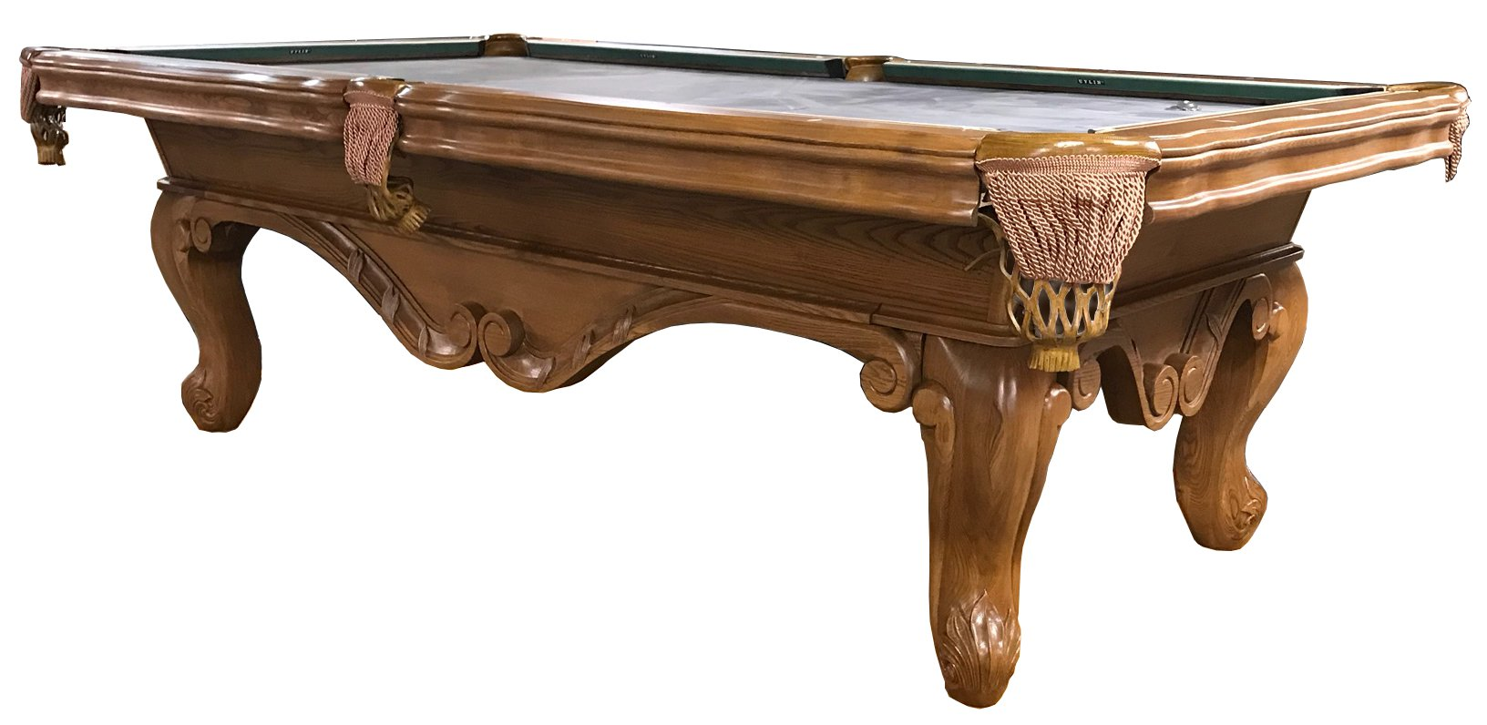 We Purchased A Small Handful Of These Beautifully Carved Pool Tables From A  Billiard Supplier Who Had Way Too Much Debt. His Loss Was Our Gain.