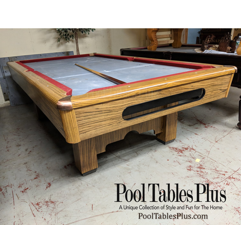 8′ Player Pool Table