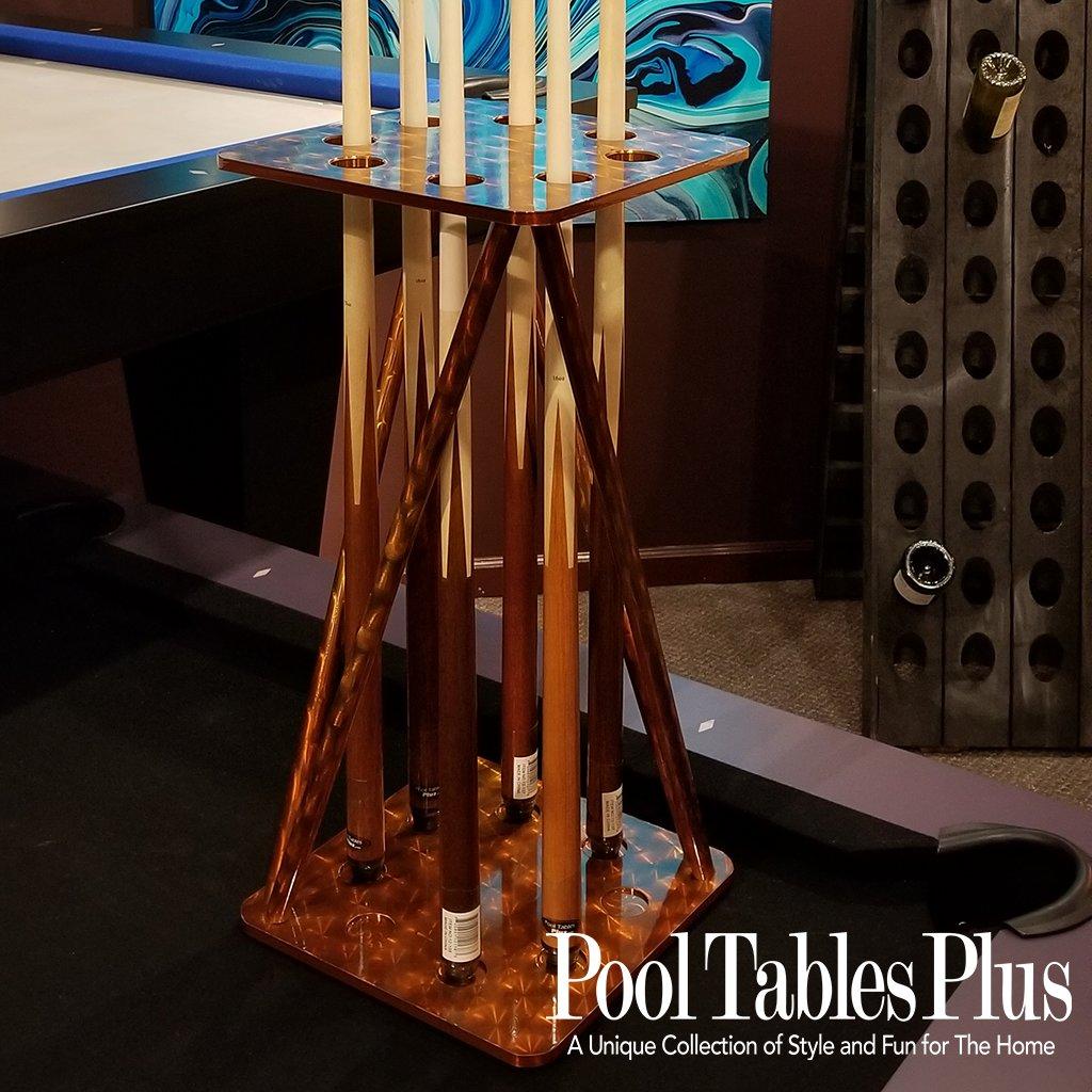 Aluminum Retro Floor Rack - Retro pool table