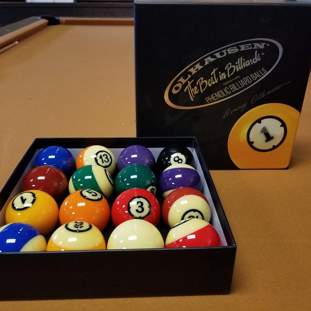 & Olhausen Signature Phenolic Balls