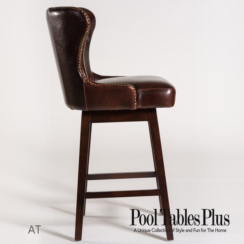 Turnberry Brown Bar Amp Counter Stool