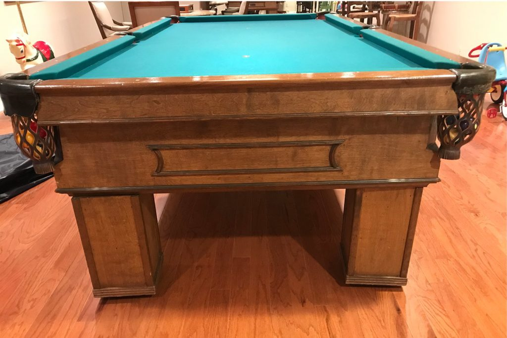 8′ Antique Style Pool Table