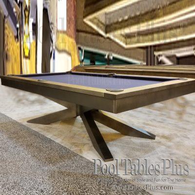 Plank Hide Rex Pool Table - Industrial style pool table