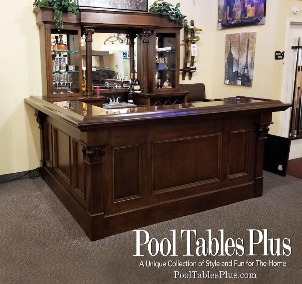 Elegant Custom Bar – brand new