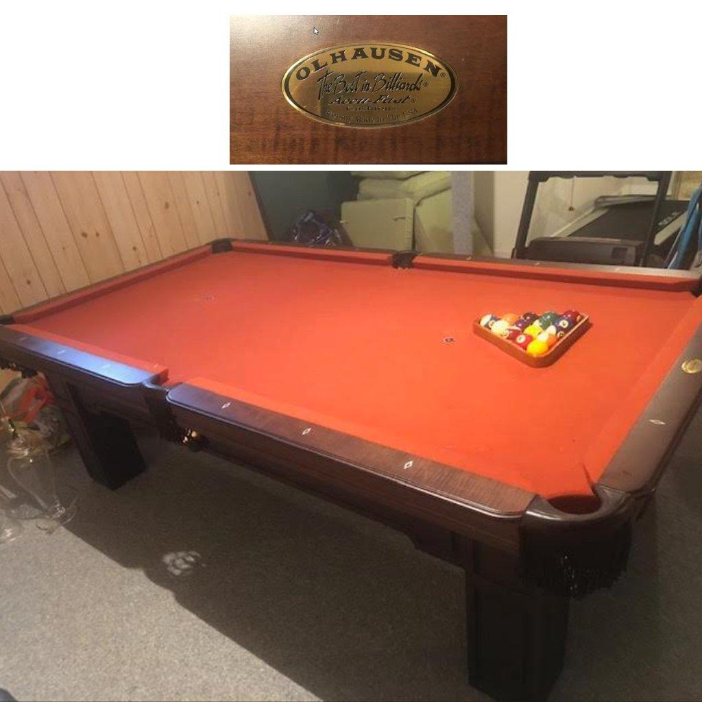 8′ Remington Pool Table