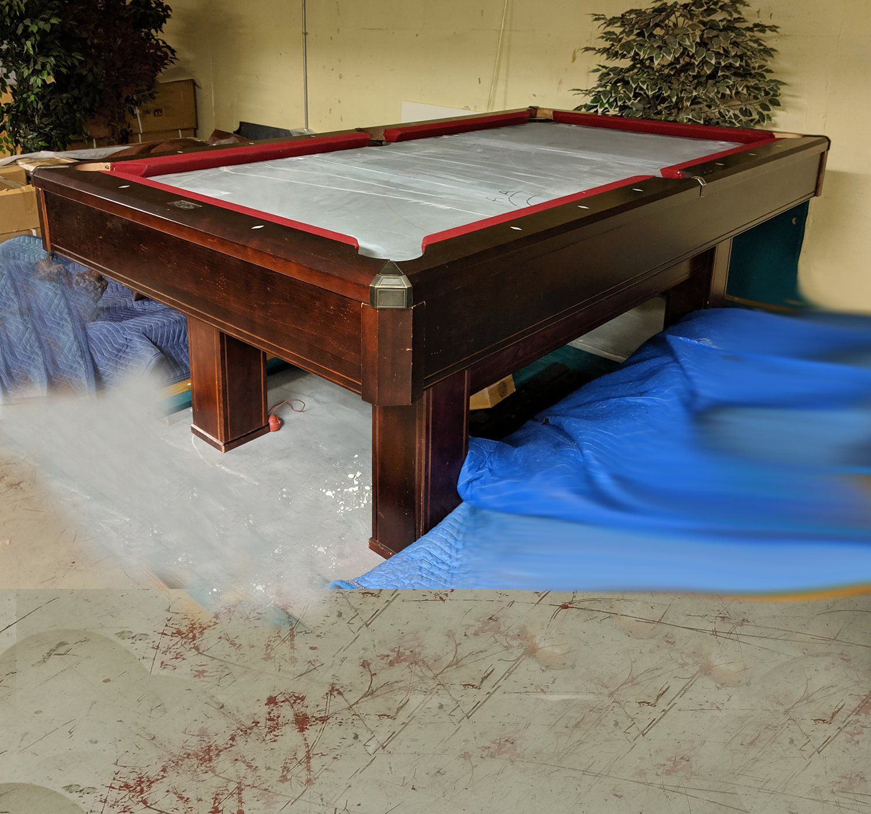 7′ Brunswick Pool Table