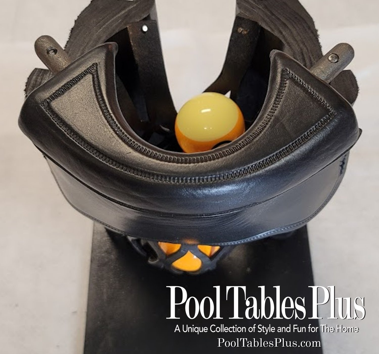 Details about  /Champion Genuine Black Leather Pockets for Pool Table//Billiard Table Set of 6